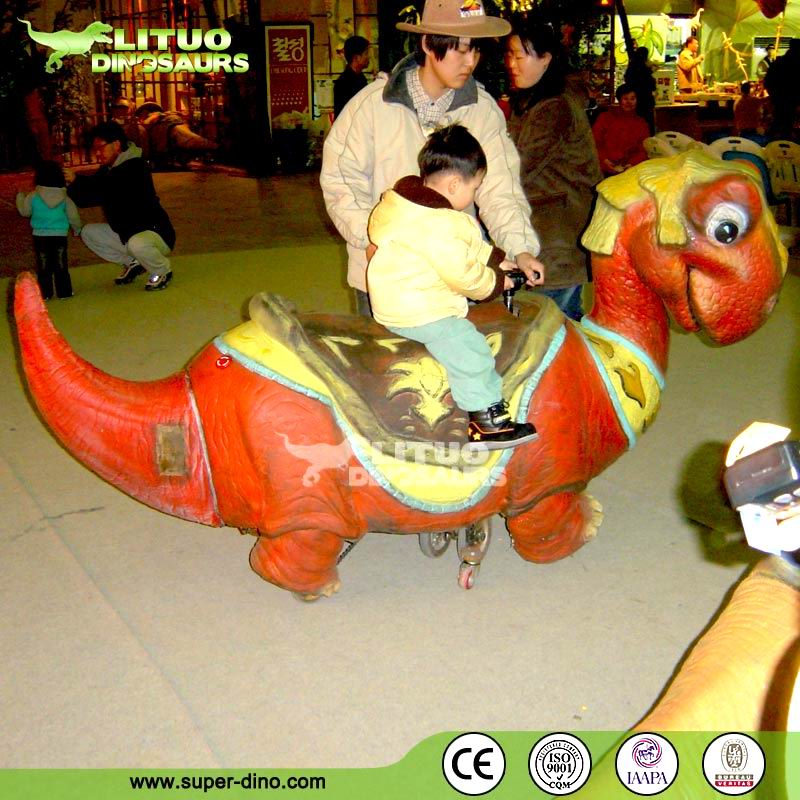 Amusement Cartoon Walking Dinosaur Rides
