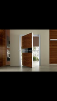 Teak Wood Main Door Designs,Building Lobby Entrance Door,Villa Access Entry Door