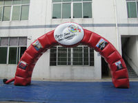8meters Span Inflatable Arch, Inflatable Finish Line Archway with Your LOGO for Promotion,Include CE/UL Blower