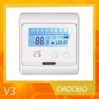 V3 digital floor heating split air-conditioner thermostat for room central control