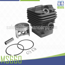 Cylinder and piston assy For STIHL 066 MS660 56cm Chainsaw Parts 1122 0201 211
