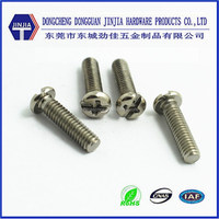 Rohs M4x20 Ni-plated PH head m4 screw standard length
