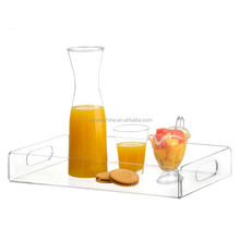 Custom clear acrylic tray,plexiglass tray,acrylic serving tray