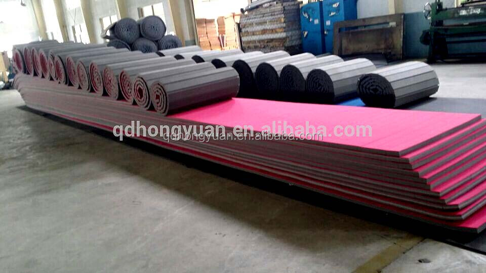 China supplier Roll-up Used Wrestling Mats for Sale for Practice