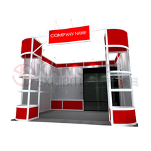 6063 T5 aluminum trade show exhibition booth / exhibition stand