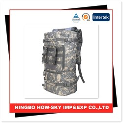 Military camouflage backpack/ military waterproof backpack/waterproof tactical backpack
