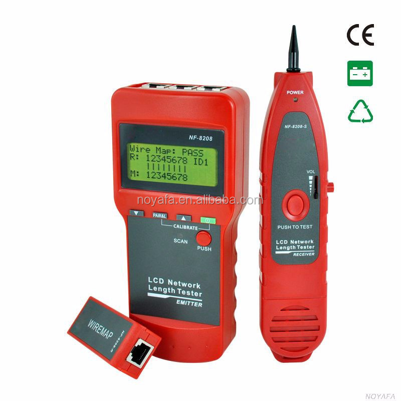 LCD Network Length tester wire locator NF-8208