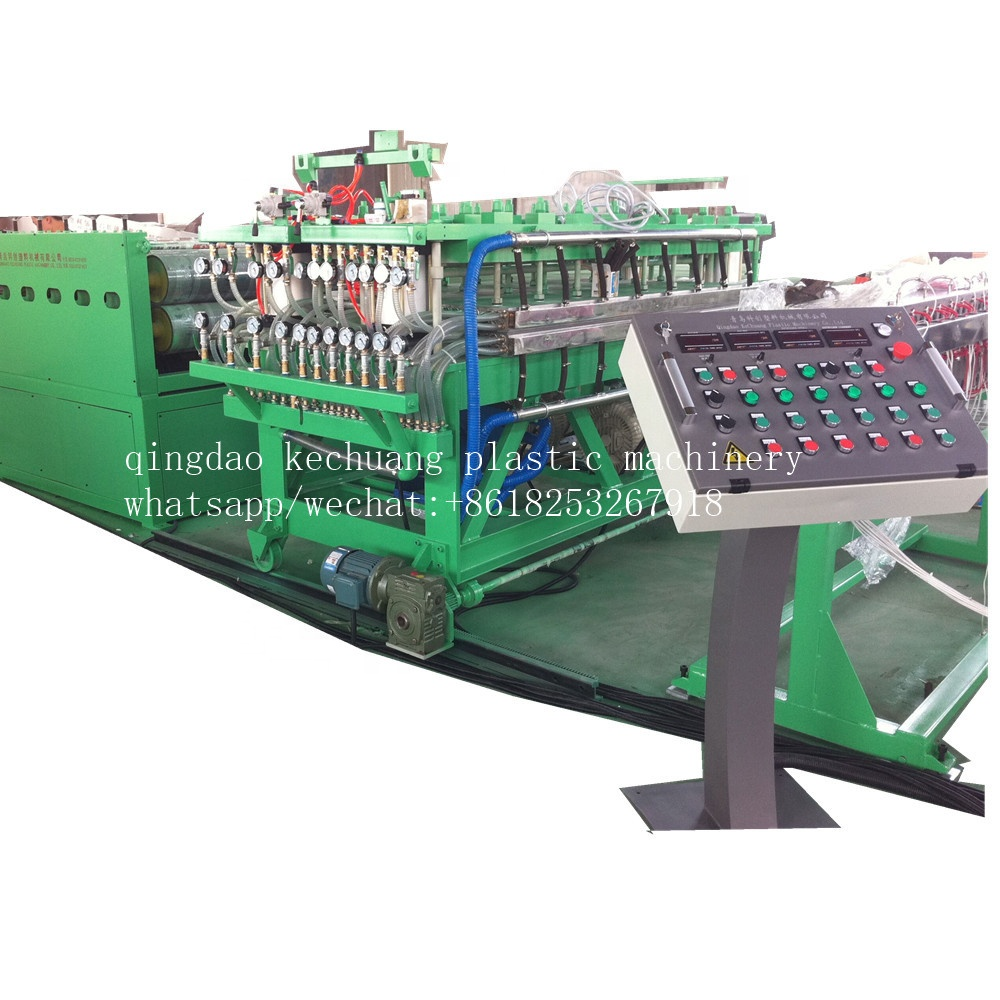 <strong>PE</strong>/PP/PC Hollow Grid sheet extrusion line/ hollow sheet machine