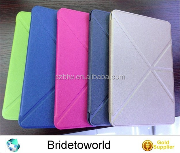 Smart Tablet Cover Case Leather Stand Folding Case for iPad 2 3 4
