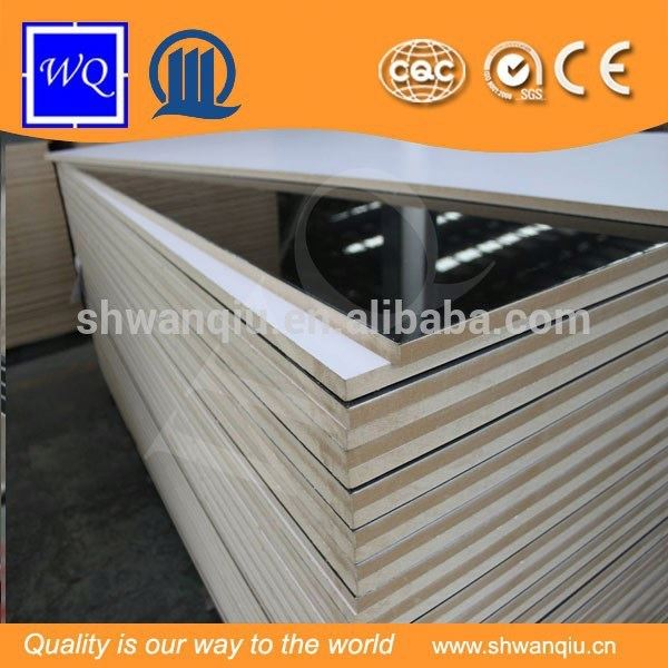 E1 Solid Color/Wood Grain Color High Glossy Acrylic MDF Board for Home Furniture Kitchen Cabinet and Sliding Door