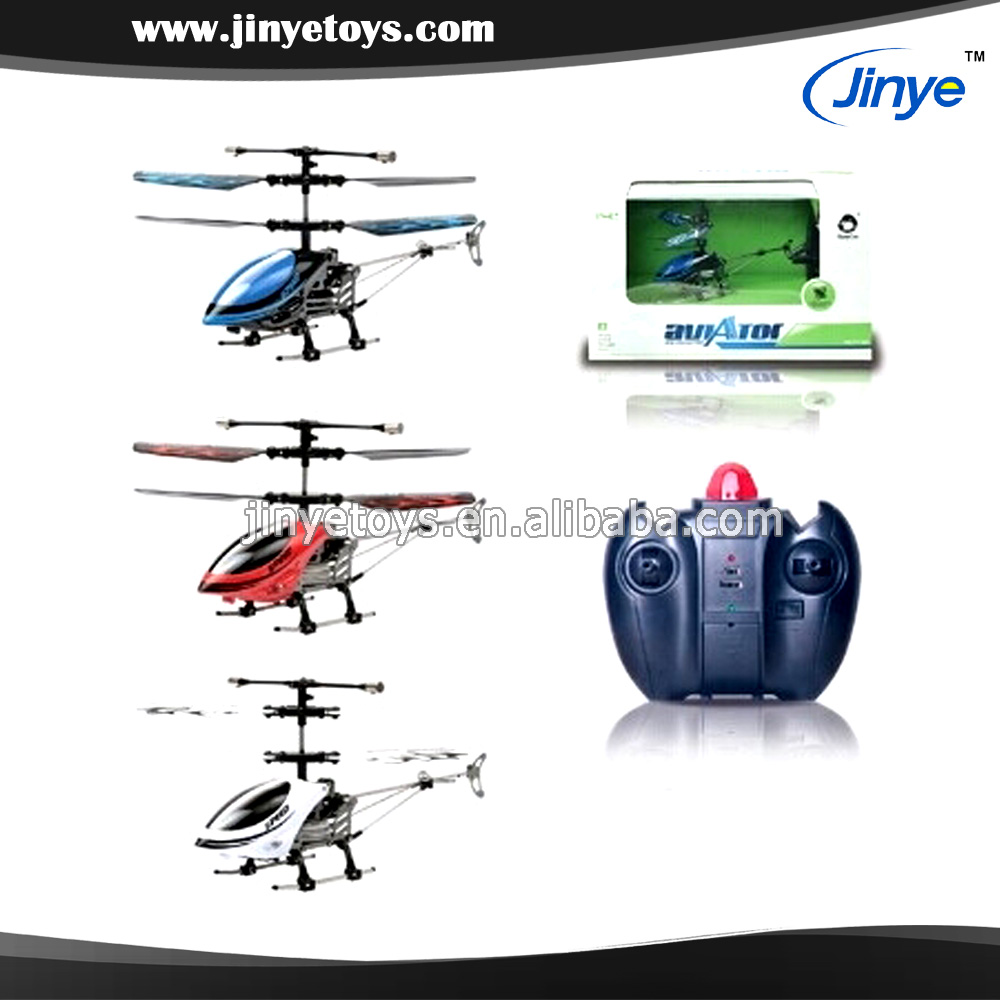 2 Channels Infrared Radio Control mini Die cast Helicopter with gyroscope ( White/Blue/Red )
