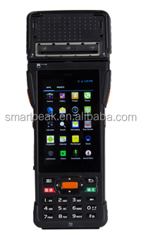 mobile payment terminal / qr code pos terminal / cash payment machine / handheld device with printer