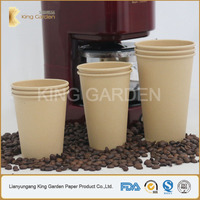 450 ml Biodegradable Heat Insulated Kraft Coffee and Tea Cups