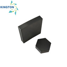 Sintered silicon carbide square, rectangle, hexagon tile for armor bulletproof