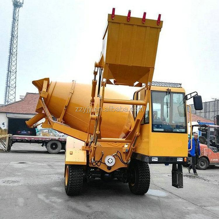 Professional supplier of Whole using life 9m3 8 cubic meters concrete truck