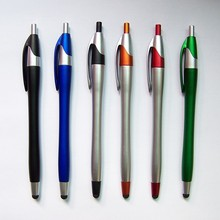 Multicolor ball pen mobile phone touch screen pen