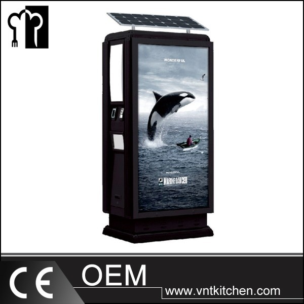 Luxurious Commercial Advertisement Dustbin