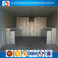 China Q235 perforated steel plank / Pre-Galvanized scaffolding steel plank / metal plank