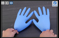 disposable powder free nitrile examination gloves,medical blue color nitrile glove