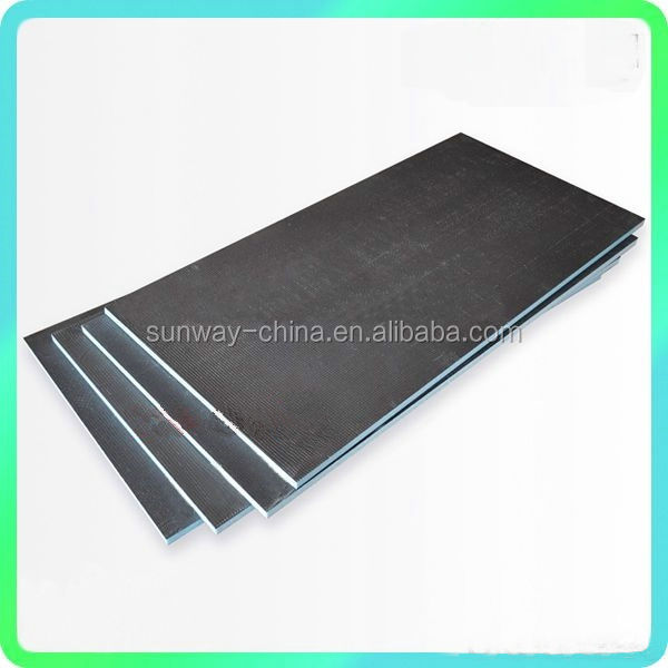 Tile backer board customized thickness reinforced with glassfibre 4*6