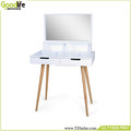Guangdong manufacturer wall mounted dressing table with mirror