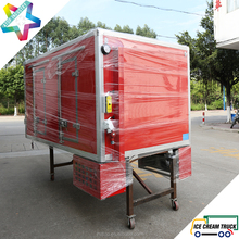 ColdKing 2.7m refrigerated truck body with eutectic cold plate for hyundai H100 chassis ice cream transportation truck body