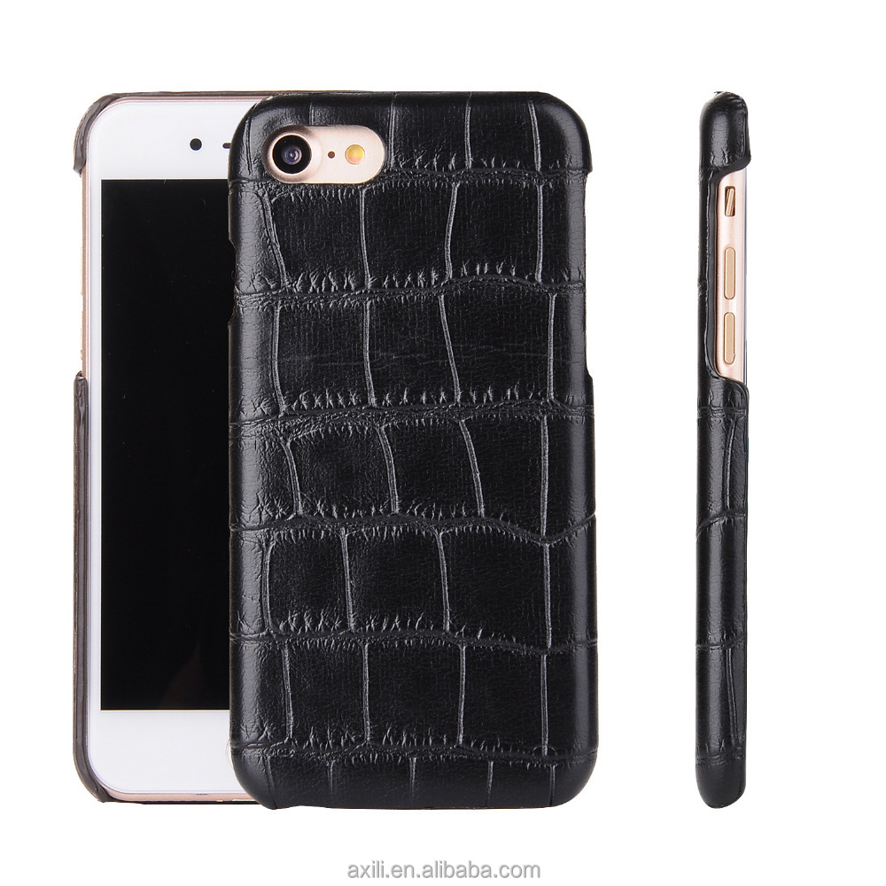 New style cool snake phone case for iphone 7 7 plus 6 6plus 5 SE Carbon crocodile wood pattern phone case cover for iphone 7