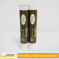 eco-friendly packaging aluminum-plastic tube for men hair color cream