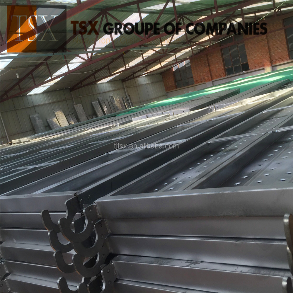 Tianjin Manufacturer TSX-10112 hot dipped galvanized Scaffolding Catwalk used for construction oil and gas project