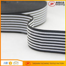 High quality custom jacquard woven elastic webbing strip