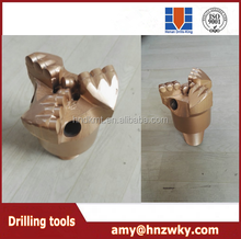 api bit flat face PDC non-coring drill rock bit set