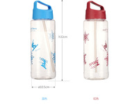 Cheap ultra-large capacity water bottle 2L
