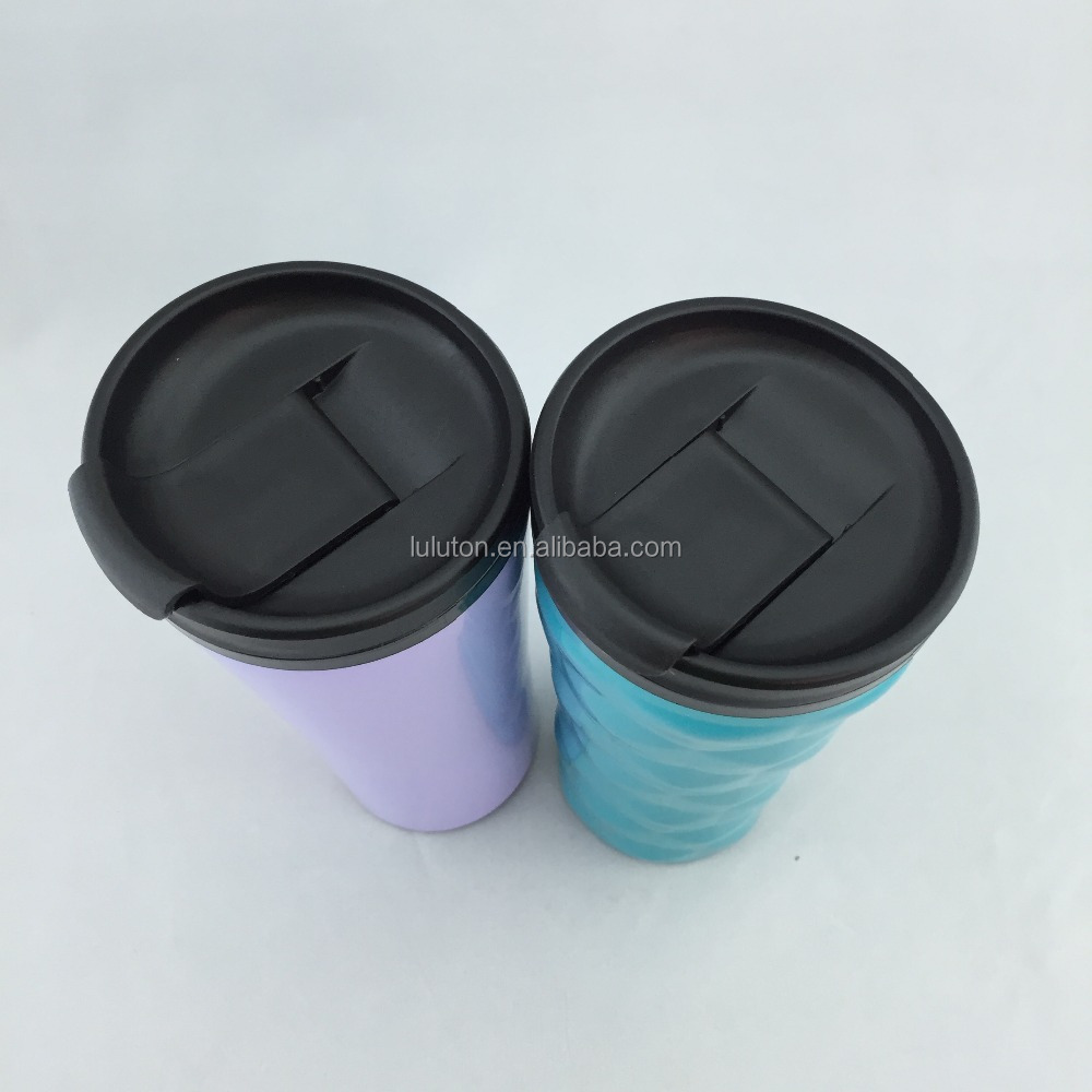 food grade double wall inasulated drinking cup stainless steel for Starbucks coffee thermos tumbler