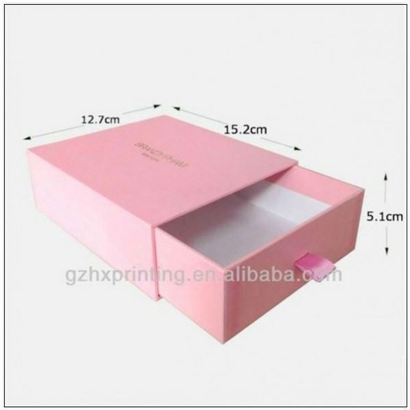 Fashionable design wedding paper cake box with knot style