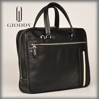 Wholesale genuine leather in black classic handbags