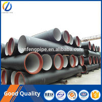 En598 water pipeline ductile iron pipes and fittings