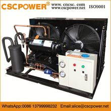 semi-hermetic compressor water-cooled condensing unit refrigeration capacity