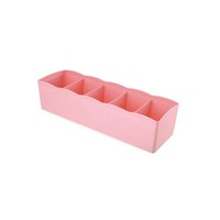 small transparent box,closet plastic divider organizer box for socks and bra