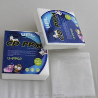 Hot sale 100pcs/lot Double Sides CD & DVD PP Bags CD/DVD inner sleeves PP02