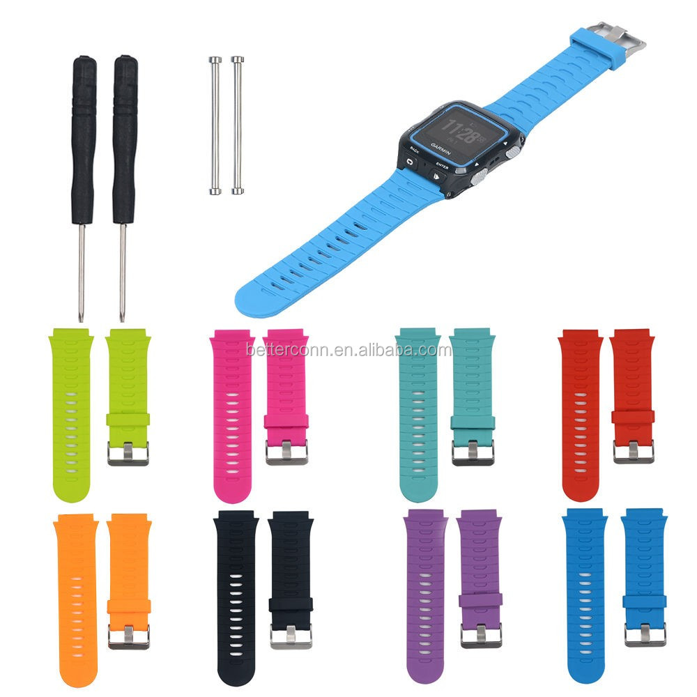 Hot Replacement Bands With Metal Clasps Strap for Garmin Forerunner 920XT Watch