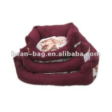 Soft pet bed beanbag