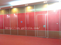 customized acoustic folding partition
