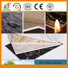 Pvc Wall Panel,Pvc Panel,Natural Surface Pvc Plastic Wall Decoration Material