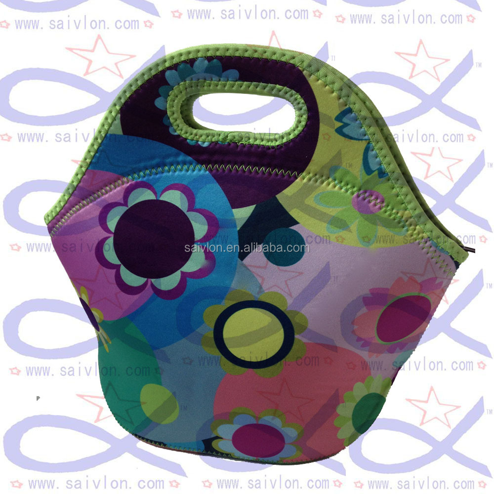 zippered isothermal Insulated lunch bag