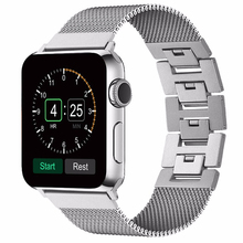 Amazon Hot selling milanese loop watch band for apple watch, Replacement Metal Band for Apple Watch Magnetic Band