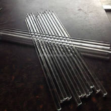Different sizes Glass stirring rod for lab