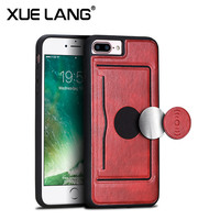 High quality strong OEM PU leather for Iphone X case, stand case for Iphone X 10 ten, card slot for APPLE Iphone X case cover