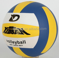 Xidsen Super Fibre 18 pannels Volleyball size 5,super PU glue laminated,classic design soft touch