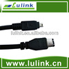 High speed Firewire IEEE 1394 USB Cable 9 pin to 4 pin