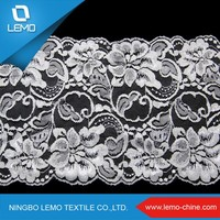 Lemo High quality competitive price cotton nylon lace fabric